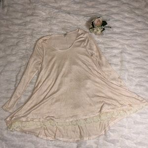 Umgee short dress/ long blouse, small